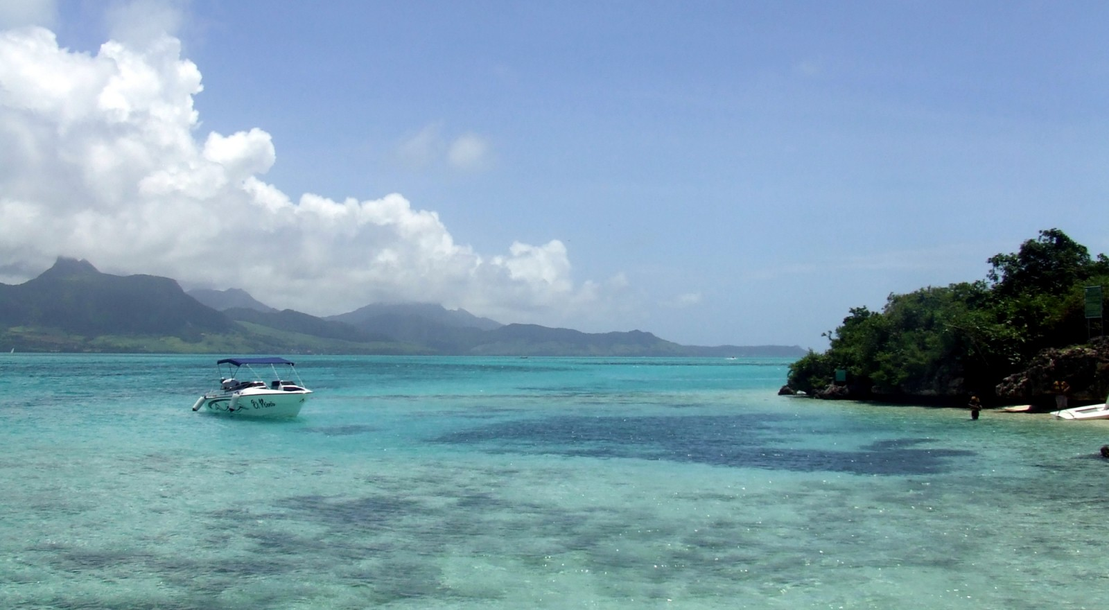 Excursion pour l'ile aux Cerfs en bateau rapide